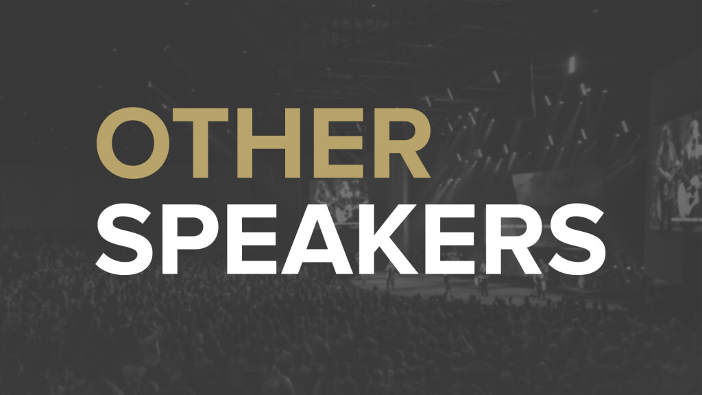 Other Speakers